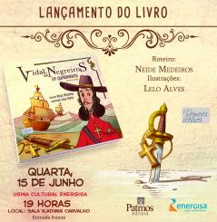 Release Primeira Leitura Andre Vidal de Negreiros