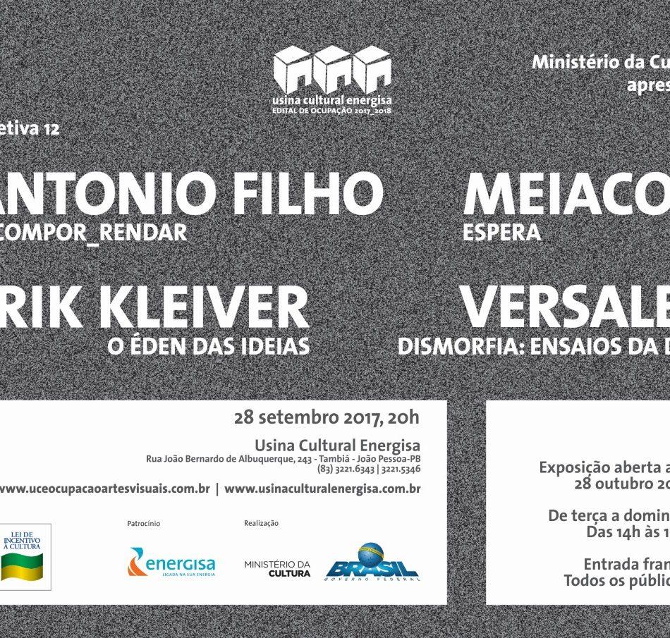 28/09 - Exposição 'Coletiva 12' - Erik Kleiver, Antonio Filho, Meia Cor e Versales