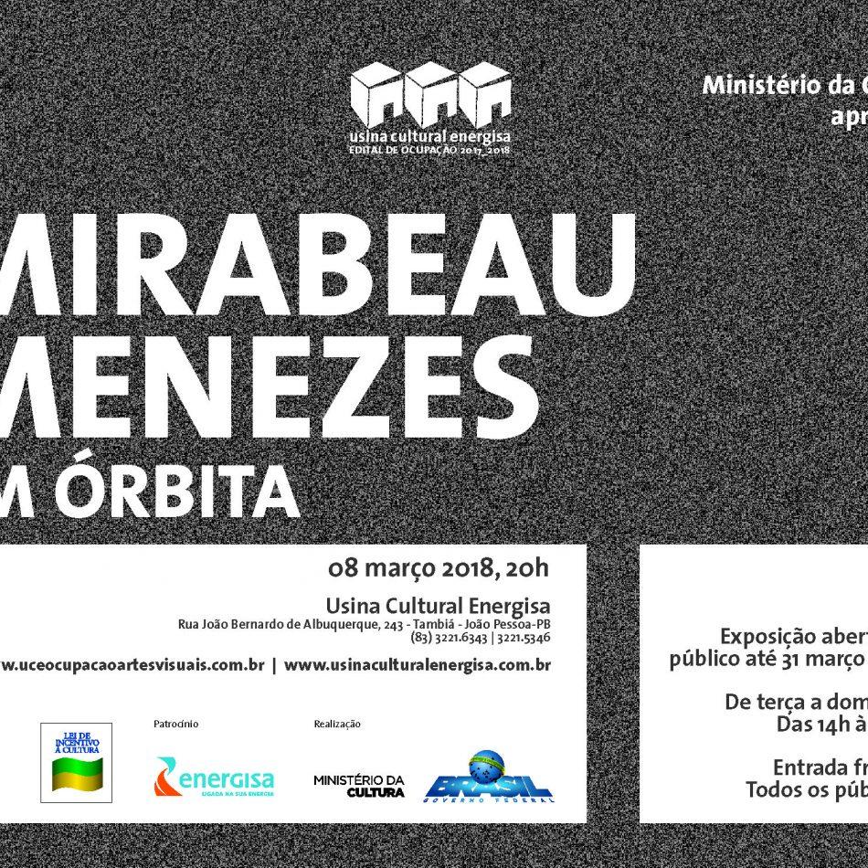 08/03 - Artes Plásticas | Vernissage do Artista Mirabeau Menezes com a exposição 'Em órbita'