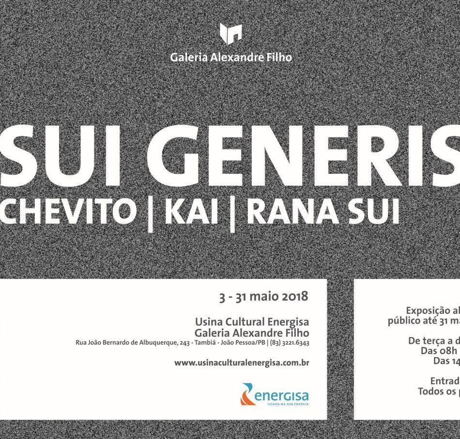 03/05 - Abertura Exposição SUI GENERIS | Galeria Alexandre Filho