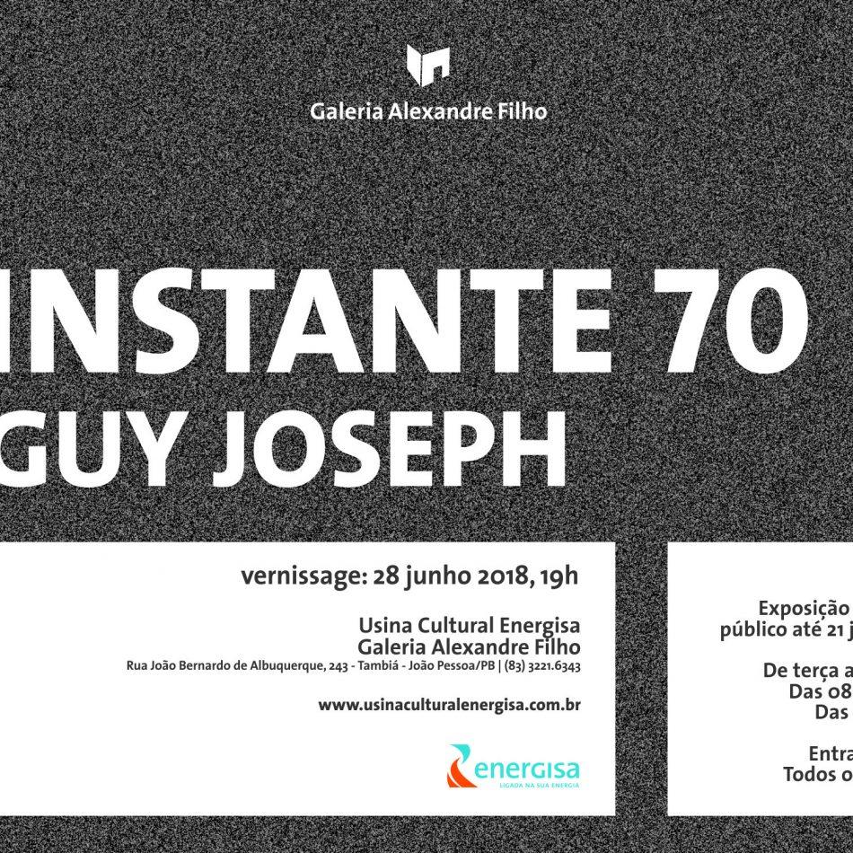 28/06 - Exposição Individual de Guy Joseph