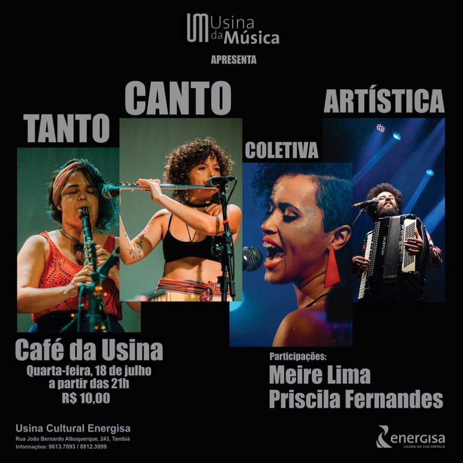 18/07 - Coletiva Tanto Canto