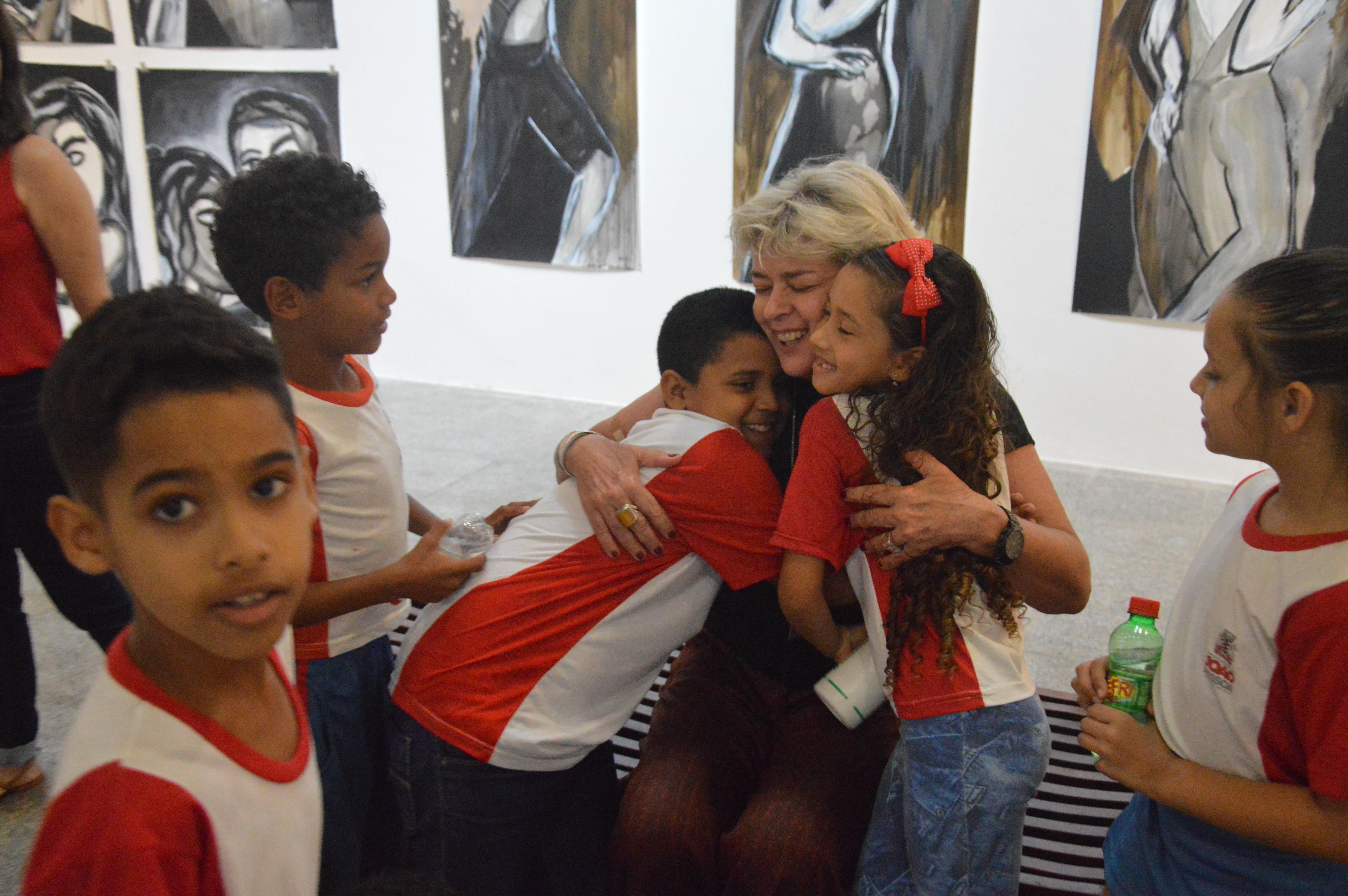 Visitação Alunos Expo HELOÍSA MAIA
