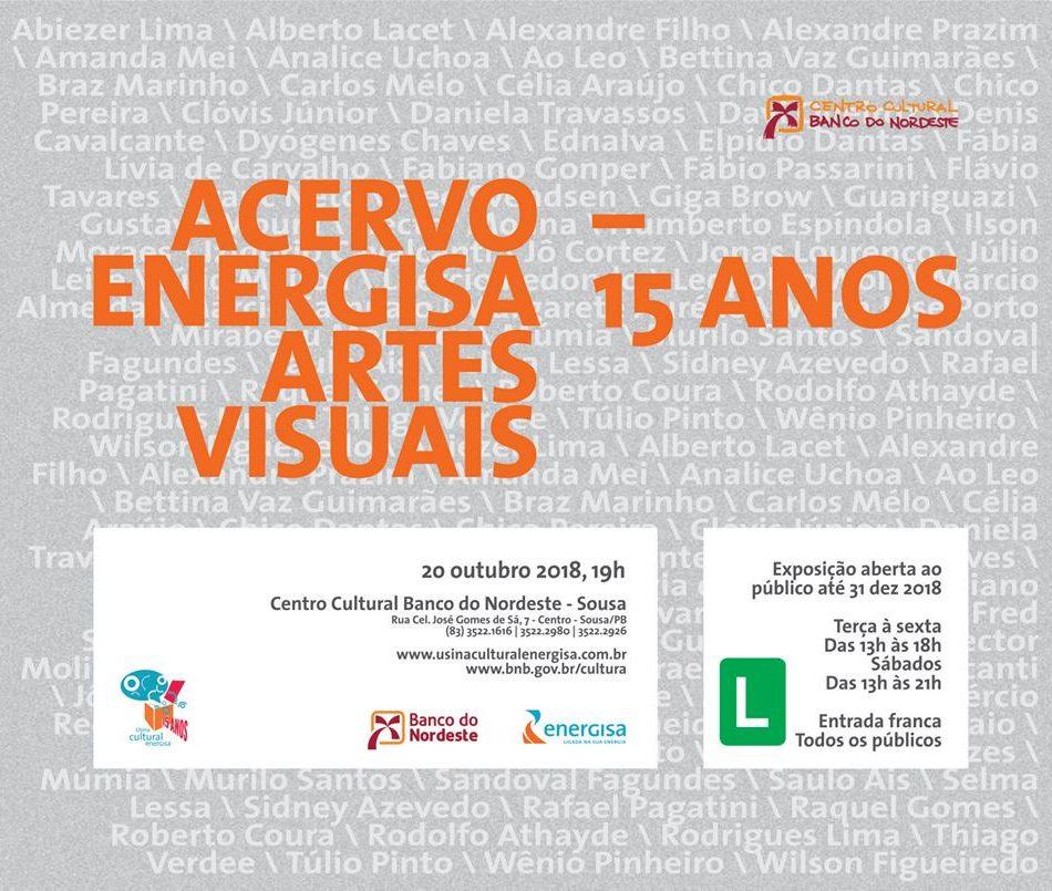 'Acervo Energisa Artes Visuais 15 anos'