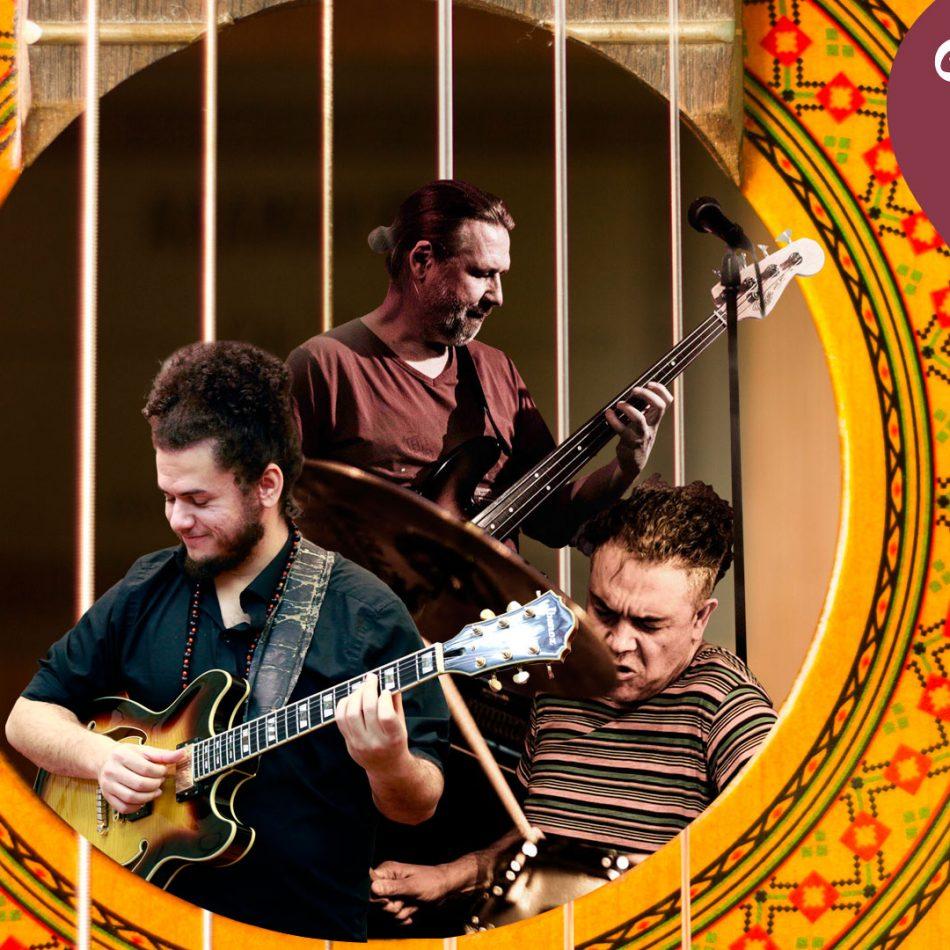 20/08 - Usina da Música - Trio de Jazz com Moraes (BRA), Mathisen (NOR) e Zimring (IL)