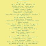 Lista de expositores